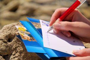 絵葉書(ポストカード)の書き方