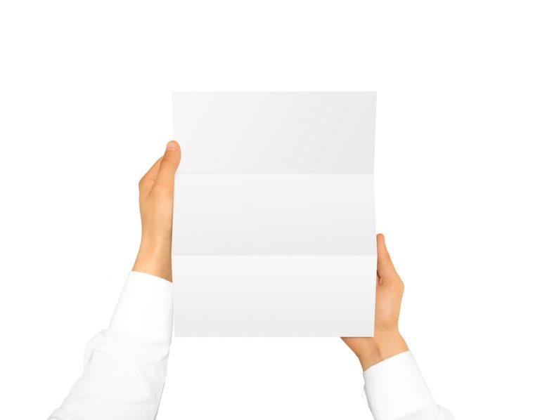手紙の折り方(三つ折り・四つ折り)と封入の向き