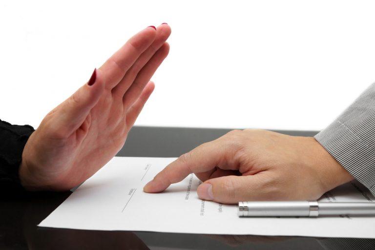 保証人の依頼を断る手紙の書き方|文例つき