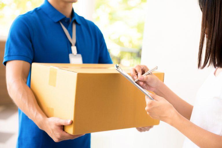 荷物が届いているかの確認メールの文例