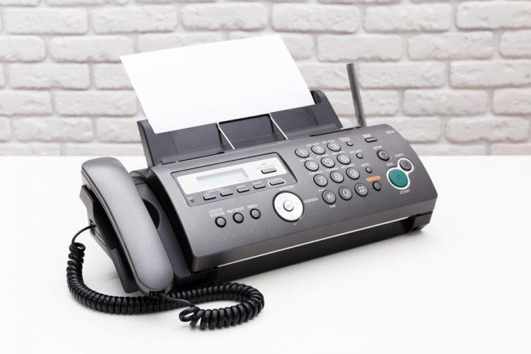 fax送信の確認メールの書き方・文例
